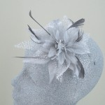 Grey Fascinator Cheska - FAS035